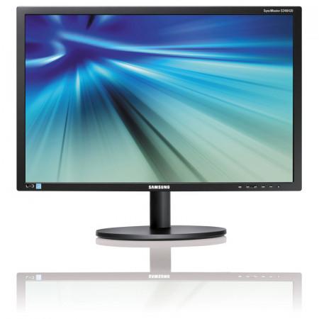 "Monitor 19"" LED Samsung S19B420BW, Grad A, 1440x900, 5ms, VGA, DVI, Cabluri incluse"