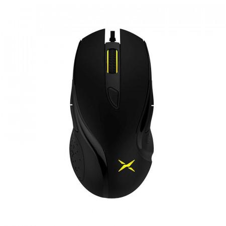 Mouse Gaming Delux M511 Black, 3200 dpi, 4 butoane, Iluminare LED RGB
