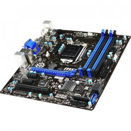 Placa de baza MSI B85M-E45, Intel B85, LGA1150, 4th gen, 4x DDR3, 4x SATA III, USB 3.0