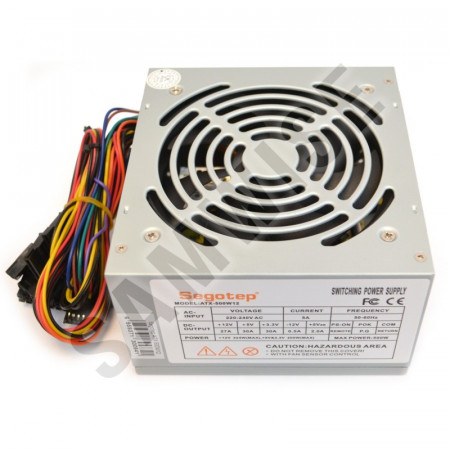 Sursa Segotep 500W ATX-500W12, 2x SATA, 2x Molex