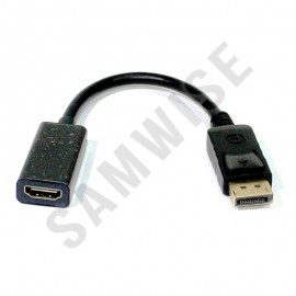 Poze Adaptor de la DisplayPort (male) la HDMI (female)