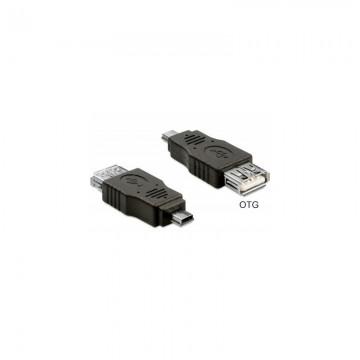 Adaptor DeLock mini USB - USB 2.0 pentru casa de marcat