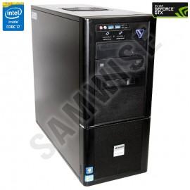 Calculator GAMING I7, Intel Core i7 2600K 3.4GHz  (Up to 3,8 GHz), 8GB DDR3, SSD 120GB, GTX 570 1280MB DDR5 320BIT, Cougar 700W, DVD-RW