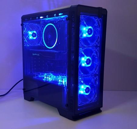 Calculator Halo 7, Intel Core i7 3770 3.4GHz, 16GB DDR3, SSD 256GB, HDD 1TB, Video ATI RX 480 Nitro 8GB DDR5