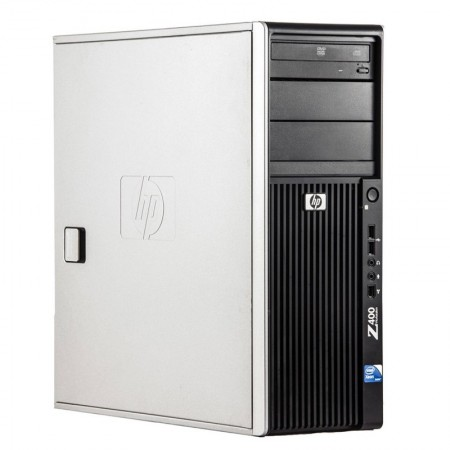 Calculator Incomplet HP Z400 Workstation, Intel Xeon QuadCore W3550 3.06GHz, 4x DDR3, SATA II, DVD, Cooler inclus