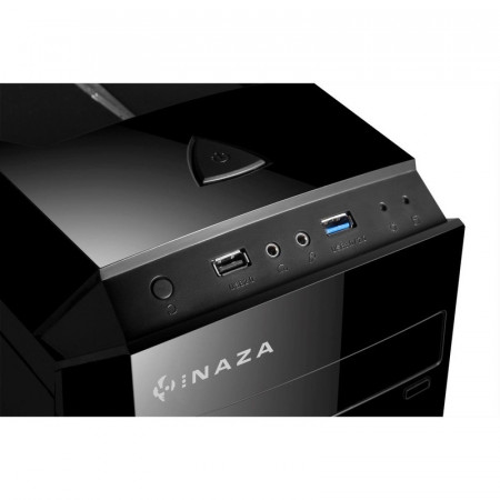 Carcasa Inaza X-BLADE, MiddleTower, USB 3.0, 3x Vent. 120mm LED