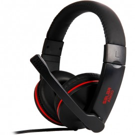 Casti Somic Salar A500, Over-Head, Microfon omnidirectional, Black