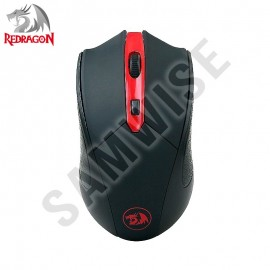 Poze Mouse Gaming Redragon M620 Black, Wireless, 2400 dpi, 4 Butoane