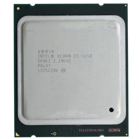 Procesor Intel Xeon E5-1650 3.2GHz, Turbo 3.8GHz, 6 cores, FCLGA2011, Cache 12MB