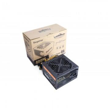Sursa Segotep Cruiser Q6 400W, 3x SATA, 2x Molex, 1x 6 PCI-E