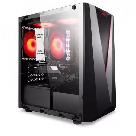 Calculator Gaming Segotep Prime, Intel Core i5 2400 3.1GHz, Acer Q65H2-AM, 8GB DDR3, 3TB, XFX RX 580 8GB DDR5 256-bit, DVI, HDMI, 600W