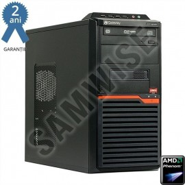 Poze Calculator GATEWAY DT55, AMD Phenom II X3 B75 3GHz, 8GB DDR3, 500GB, nVidia GT330 1GB DDR3/128-bit, DVD-RW