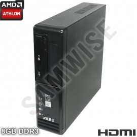Poze Calculator RM SFF AMD Athlon II X2 250 3GHz, 8GB DDR3, Video Radeon HD3000 VGA, DVI, HDMI, 160GB, DVD-RW