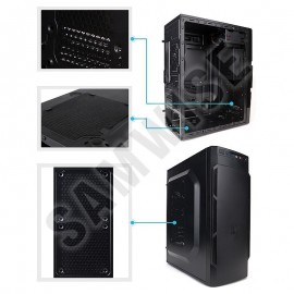Poze Calculator ZALMAN BLACK, Intel Core i3 3220 3.3GHz, 8GB DDR3, HDD 500GB, Nvidia GT 240 1GB DDR3, FSP 400W