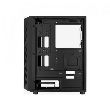 Carcasa Gaming Aerocool Prime ARGB, MiddleTower, 2x USB 3.0, Panou transparent