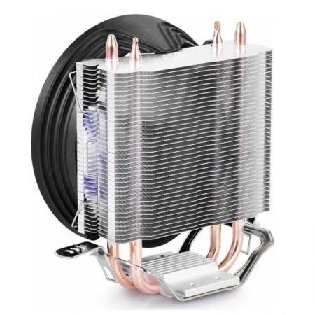 Cooler CPU Deepcool GAMMAXX 200T, Ventilator 120mm, Heatpipe-uri cupru, Multisocket