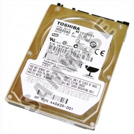 Poze Hard disk 120GB Laptop, Notebook, Toshiba MK1237GSX, SATA2, Buffer 8MB