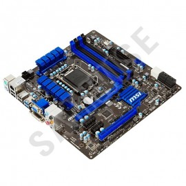 Poze KIT INTEL, MSI H77MA-G43, Socket LGA1155 + Procesor Intel Pentium G2030 3GHz + Cooler