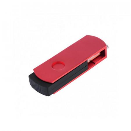 Memorie externa Exceleram P2 16GB, USB 3.1 Gen 1, Negru-Rosu