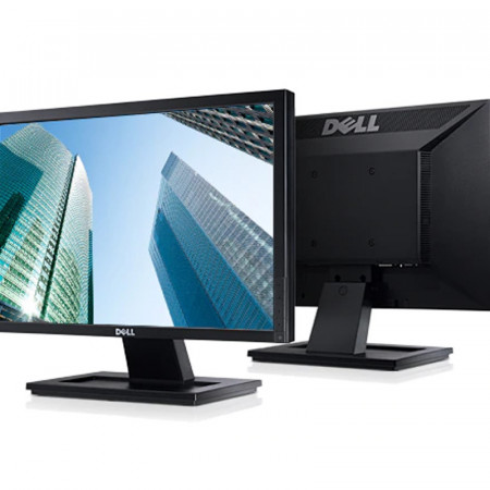 """Monitor LCD Dell 19"""" E1911C, Grad A, 1440x900, 5ms, DVI, VGA, Cabluri incluse"""