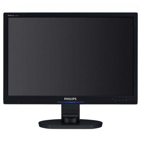 """Monitor LCD Philips 24"""" 240B, Grad A, 5ms, 1920x1200, DVI, VGA, Cabluri incluse"""