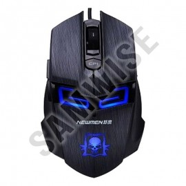 Poze Mouse Gaming Newmen N6000 Black, Wired, USB, 2000 DPI + Mousepad MP235