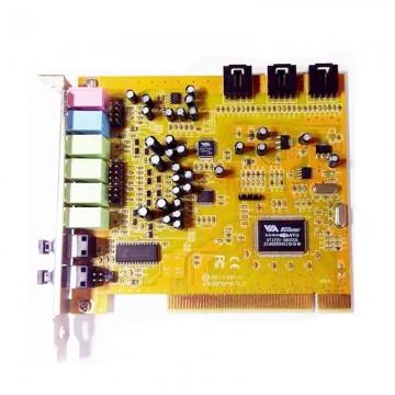 Placa de sunet 7.1 PCI pentru calculator, VIA ENVY 24 HT-S 24 bit