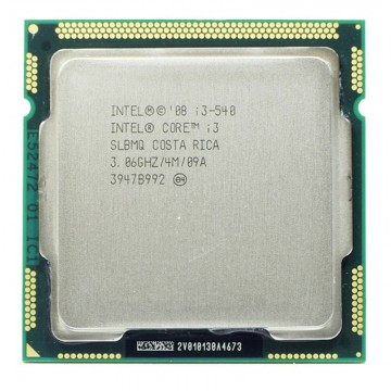 Procesor Intel Core i3 540 3.06GHz, Socket LGA1156, Cache 4MB, FSB 1333MHz, HD Graphics