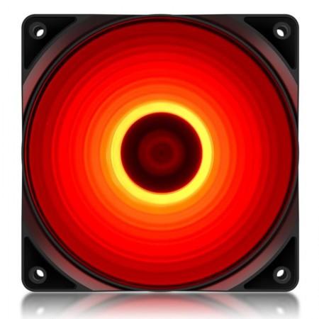Ventilator Deepcool RF120R, Red LED, 120mm