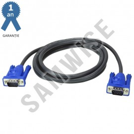 Cablu VGA - VGA, 1,8M