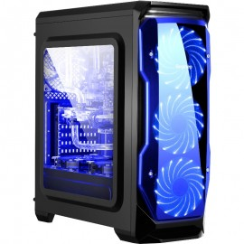 Poze Calculator GAMING HALO, Intel Core i7 2600K 3.4GHz  (Up to 3,8 GHz), 8GB DDR3, 1TB HDD, GT730 4GB DDR3, Chieftec 500W