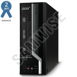 Poze Calculator Incomplet Acer Veriton X2611G SFF, LGA1155, Intel Chipset H61, 2x DDR3, DVD-RW, Cooler procesor inclus