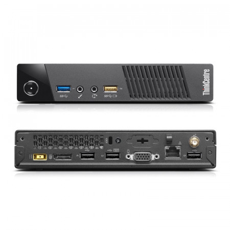 Calculator Lenovo M73 USFF Tiny, Intel Core i5 4570s 2.9GHz, 8GB DDR3, 500GB, USB 3.0