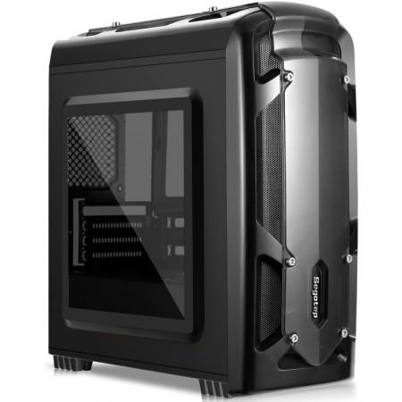 Carcasa Gaming Segotep Polar Light Black, MiniTower, USB 3.0