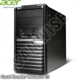 Carcasa Middle Tower Acer M480G cu Card Reader Inclus