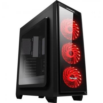 Carcasa Segotep Halo 6 Black, USB 3.0