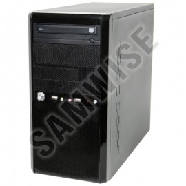 Poze Carcasa Tower Black,cu sursa FSP Group 250W PFC, Ventilator de 80mm si DVD-ROM