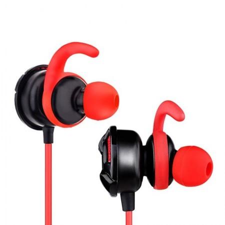 Casti Gaming in-ear Somic G618 Red, cu fir, TRRS