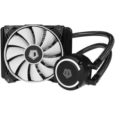 Cooler CPU ID-Cooling FROSTFLOW 120+, Racire cu lichid, Ventilator 120mm, Iluminare LED Alb
