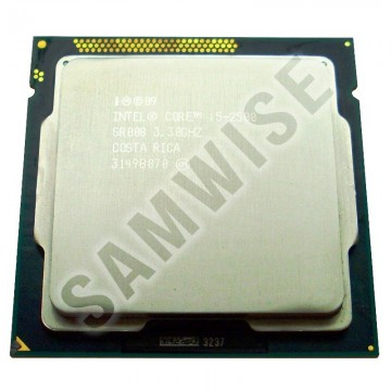 Poze Intel Core i5 2500 3.3GHz Sandy Bridge (6MB SmartCache, up to 3.7GHz), 4 nuclee + cooler