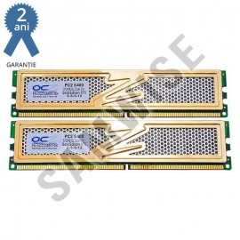 Poze KIT Memorie Dual Channel 2 x 1GB OCZ DDR2 800MHz Gold Revision II