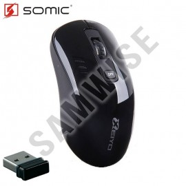 Poze Mouse Notebook Somic Xeiyo W708, Wireless, Black