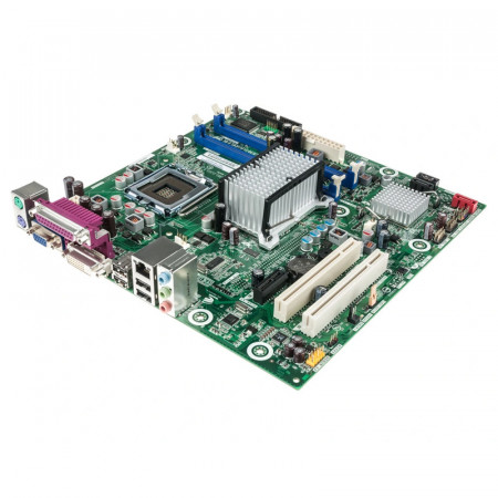 Placa de baza INTEL DQ43AP, Intel Core2Duo E7500 2.93GHz, 2x DDR2, DVI, VGA, Cooler inclus