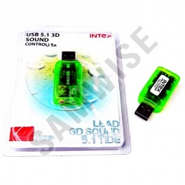 Poze Placa de sunet USB VIRTUAL 5.1 CHANNEL 3D INTEX