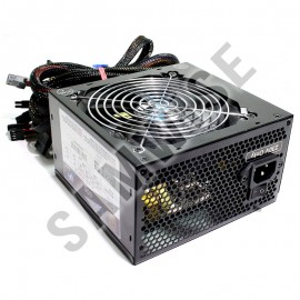 Poze Sursa 600W Real Power Eco Silent Blue, 5 x SATA, 4 x Molex, PCI-Express, Ef. 80+