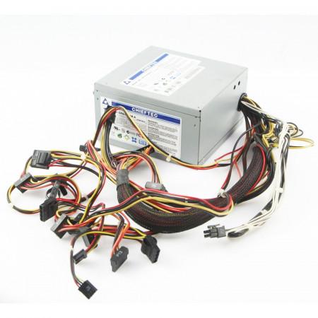 Sursa Chieftec GPS-650AB 650W, 6x SATA, 6x Molex, 2x 6-pin PCI-E, PFC Activ