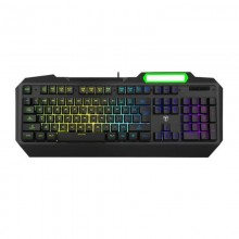 Tastatura Gaming T-DAGGER Gunboat, 19 taste fara conflict, Iluminare LED RGB, 12 taste multimedia