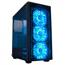 Carcasa Gaming Redragon Diamond Storm, MiddleTower, USB 3.0, Vent. 3x 120mm LED RGB
