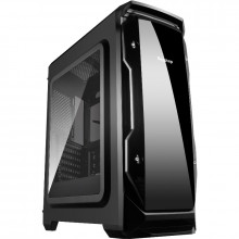 Carcasa Gaming Segotep Halo Black fara ventilatoare, USB 3.0, panou trenasparent