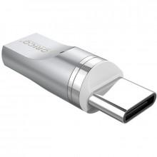 Adaptor magnetic Orico MT01 Micro USB - Type-C argintiu